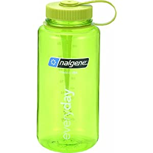 Nalgene Tritan 1-Quart Wide Mouth BPA-Free Water Bottle