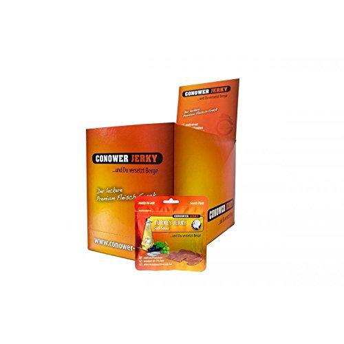 conower Turkey Jerky-Dolce + Sauer-Display 12x 25G