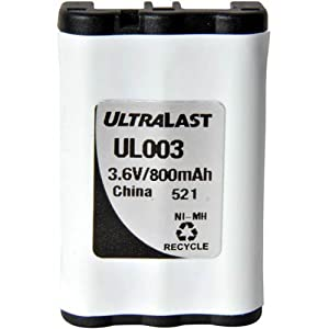Uniden CLX-475-3 Cordless Phone Battery Replacement Battery For Uniden BT-003, BBTY0545001 CLX series, TCX-400