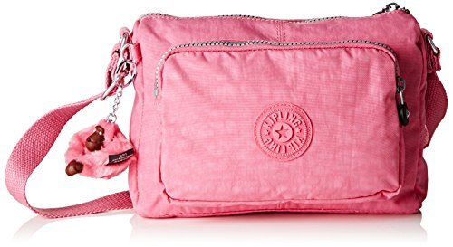 Kipling Duo Offer II, Women's Shoulder Bag, Bubblegum