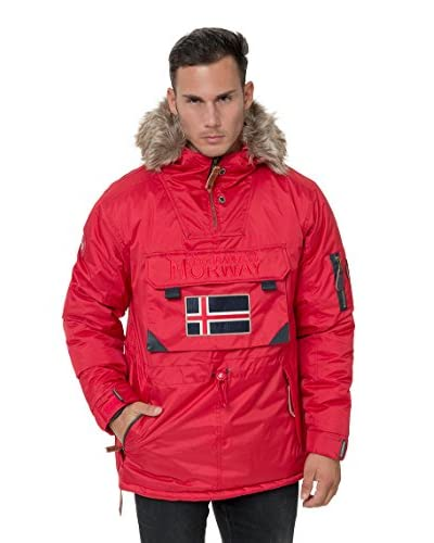 Geographical Norway Chaqueta Corporate Rojo