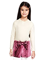 Autograph Lace Peter Pan Collar T-Shirt with Modal