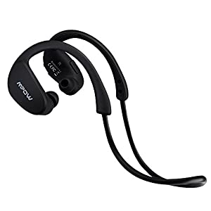 Mpow Cheetah Wireless Bluetooth 4.1 Sports Headphones with Nano-coating Sweatproof (Cool Black)