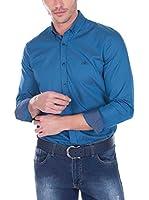 SIR RAYMOND TAILOR Camisa Hombre Bite (Azul)