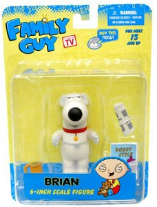 Picture of Mezco Family Guy Series 1 6 Inch Figure Brian (B005EN2M36) (Mezco Action Figures)