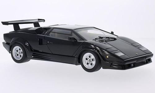 Lamborghini Countach, Black, 1988, Model Car, Ready Made, Auto Art 118