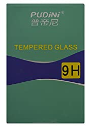 Pudini Tempered Glass Screen Protector / Guard for Lenovo S90 ( 9H Hardness & 2.5D Curved )