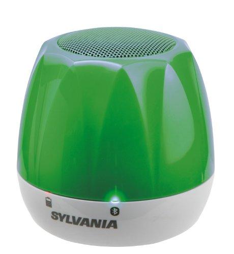 Sylvania Bluetooth Wireless Portable Speaker, Green
