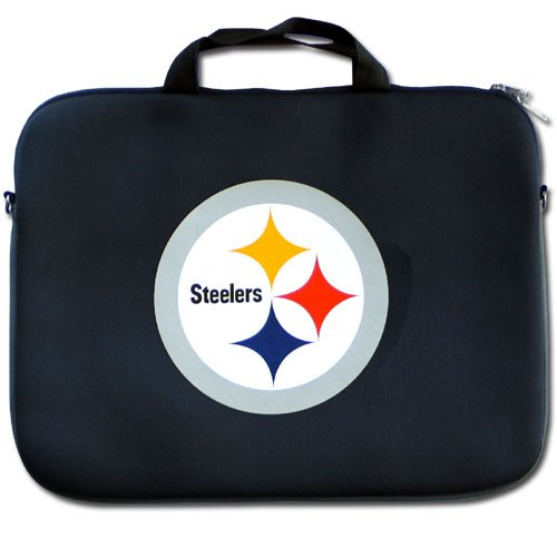 NFL Pittsburgh Steelers Neoprene Laptop Bag at Amazon.com