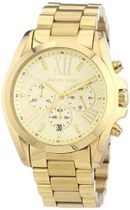Michael Kors Women's Quartz Watch Bradshaw MK5605 with Metal Strap
