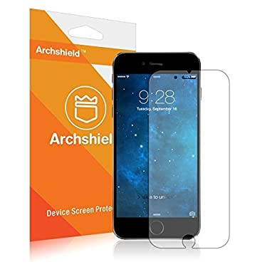 "[2 Pack] iPhone 6S Screen Protector,IVVO iPhone 6 Glass Screen Protector (4.7"")- [Tempered Glass] 9H Hardness, Bubble Free, Also Works with iPhone 6"
