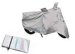 Mototrance Silver Bike Body Cover For Universal Universal