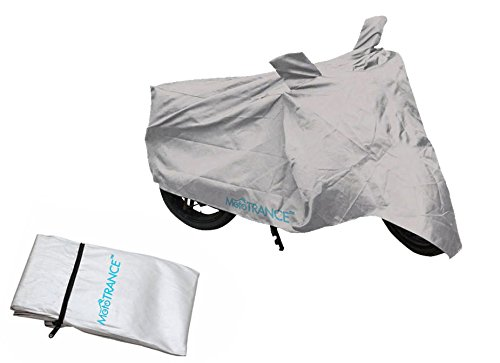 Mototrance Silver Bike Body Cover For Universal Universal