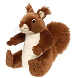 Cuddlekins 30cm Red Squirrel Plush Soft Toy