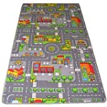 Kids Road map Rugs Large Playmat Chil...