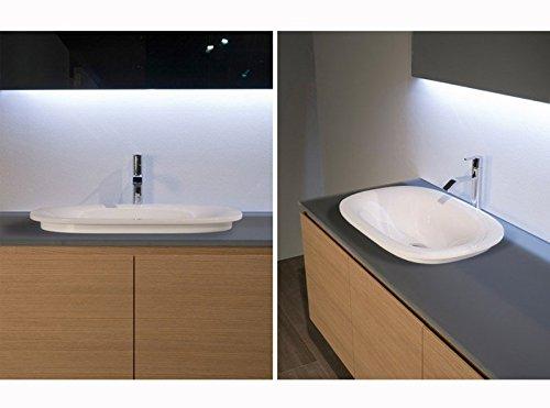 Antonio lavabos base lobos triovale fregadero para - Lavabos para encastrar ...