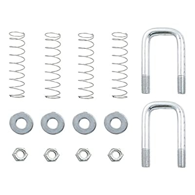 Curt Manufacturing 66113 Safety Chain U-Bolt Kit For Quick Goose Assembly