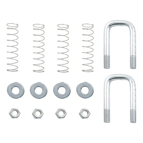 Buy Discount Curt Manufacturing 66113 Safety Chain U-Bolt Kit For Quick Goose Assembly