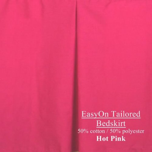 Hot Pink Bed Skirts front-1063893