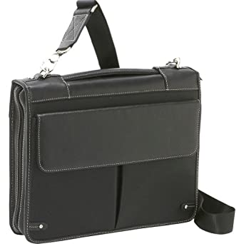 Bellino The Londoner (Deluxe Zipper Padfolio with 3 Ring Binder)