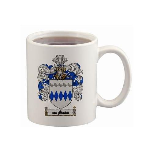 Amazon.com : Van-staden Coat of Arms Mug / Family Crest 11