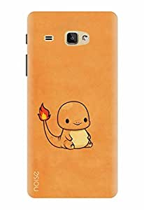 Noise Designer Printed Case / Cover for Samsung Galaxy J Max / Animated Cartoons / The Chubby Dragon Design