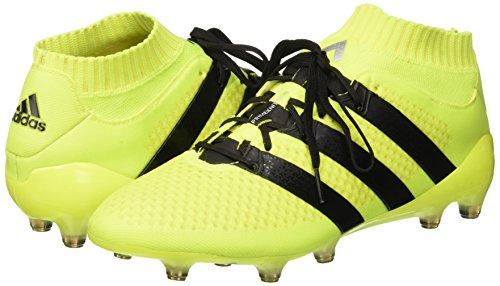 adidas Herren Ace 16.1 Primeknit S76470 Fußball-Trainingsschuhe, Multicolore (Syello/Cblack/Silvmt), 44 EU -