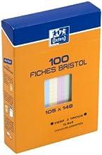 Comprar Oxford 100104124 - Ficha (A6, 100 unidades), multicolores