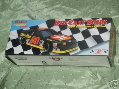 Texaco Havoline #28 Die-Cast Bank 1994 Collectors Edition