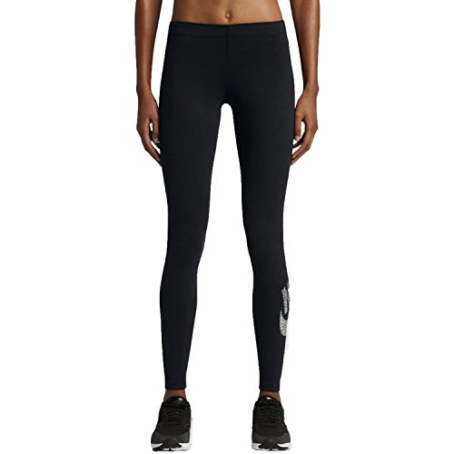 Nike Women's Leg-A-See Leggings (Black/Anthracite, Small)