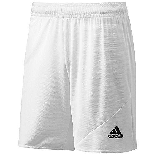 ADIDAS STRIKER 13 SHORT (YOUTH) WHITE (YL) Soccer Climalite Shorts