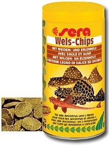 Wels-Chips 500 ml