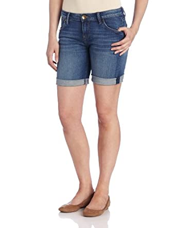 KUT from the Kloth Women's Catherine Boyfriend Denim Short, Indulgent, 2