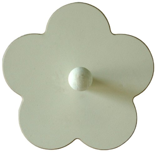 New Arrivals Small Flower Peg, White