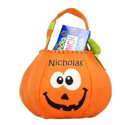 Pumpkin Trick or Treat Bag, 8