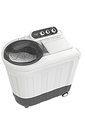 Whirlpool Ace 7.2 Supreme Semi-automatic Top-loading Washing Machine (7.2 Kg, Grey)