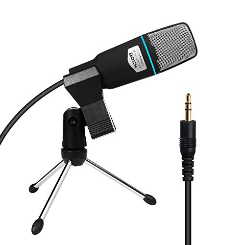 TOCH-Condenser-Broadcast-Studio-Microphone-with-Shock-Mount-Stand-Mini-Recording-Mic