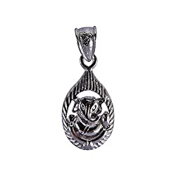 Ganesh Sterling silver Pendant