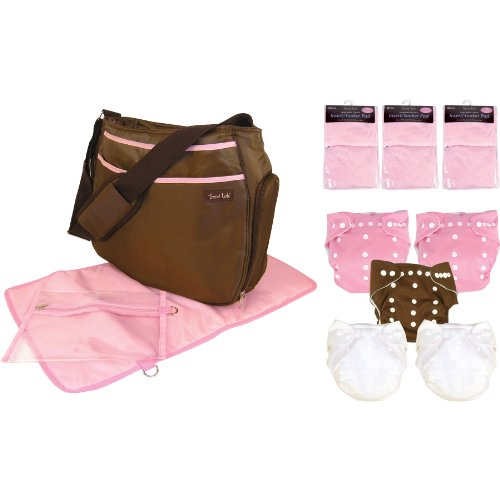 Trend Lab Cloth Diaper Starter Pack, Girl front-842966