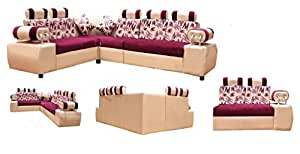 Own Style Pink Sofa Set Home Kitchen