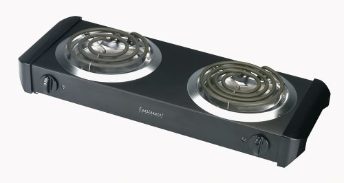 Read About Continental Electric CE23319 Double Burner Range