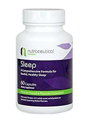 Natural Sleep Aid - Created by Medical Doctors for Restful, Healthy Sleep and Insomnia Relief (60 Capsules)