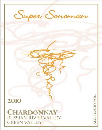 2010 Super Sonoman Chardonnay, Russian River Valley 750 Ml