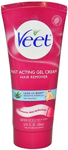 Veet Fast Acting Gel Cream Hair Removal 6.78 Oz