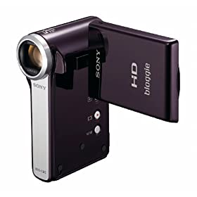 Sony MHS-CM5 bloggie HD Video Camera (Violet) NEWEST MODEL