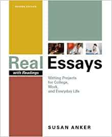 Amazon.com: Real Essays: Writing Projects for College, Work, and ...