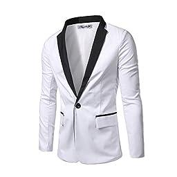 Cloud Style Men\'s One Button Groom Tuxedo Studio Clothing Casual Dress Suit Slim Fit