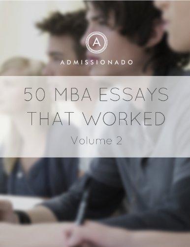 great mba essays