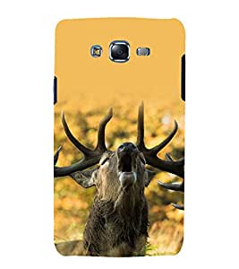 printtech Nature Animal Deer Back Case Cover for Samsung Galaxy J5 / Samsung Galaxy J5 J500F