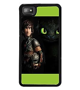 printtech Disney Dragon Back Case Cover for BlackBerry Z10